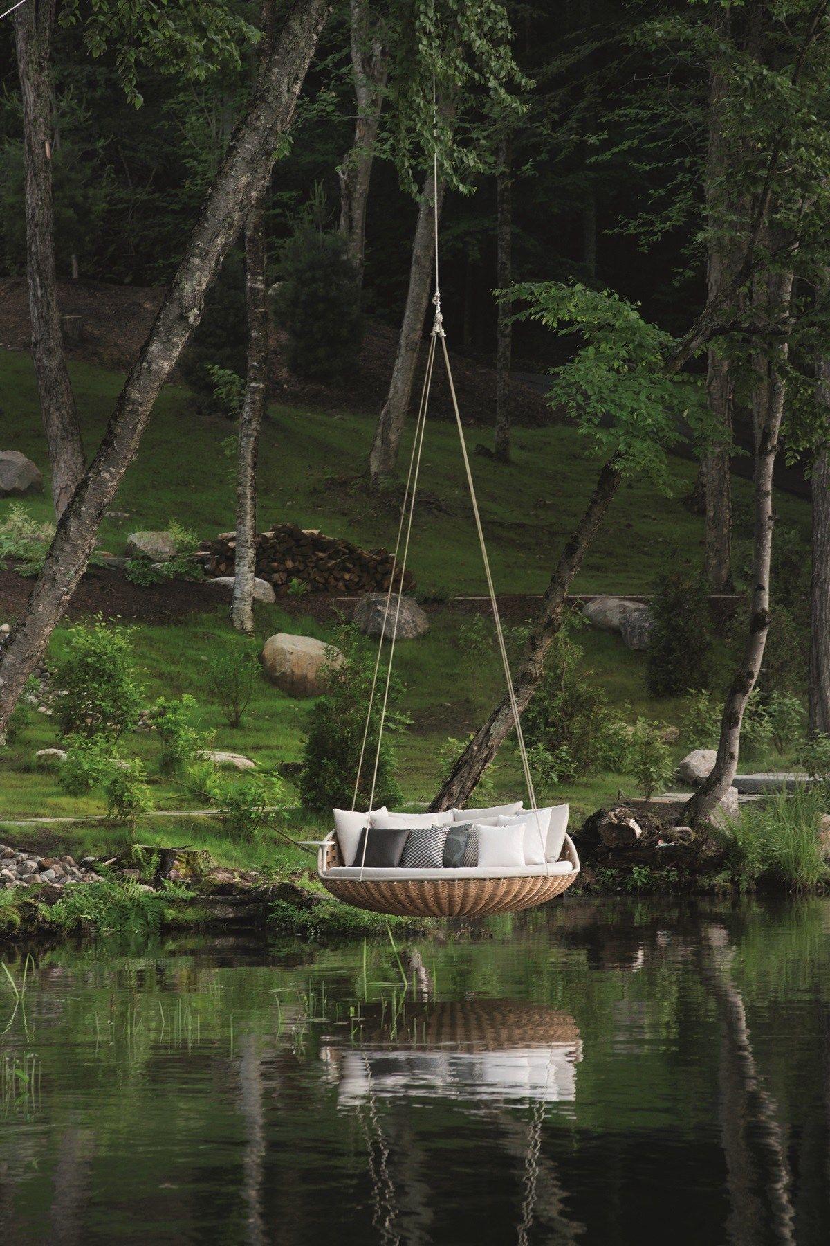 Kataloge Zum Download Und Preisliste Für Swingrest   3 Er Garten Hängesessel  By Dedon