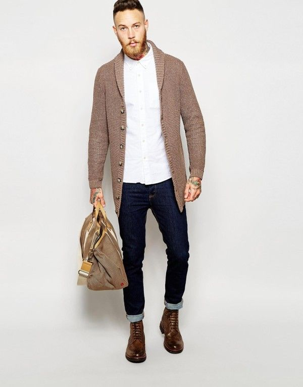 84b782ae7 Ropa de Moda para Gordos/Gorditos   Moda Hombres Otoño Invierno 2016 -  Modaellos.com