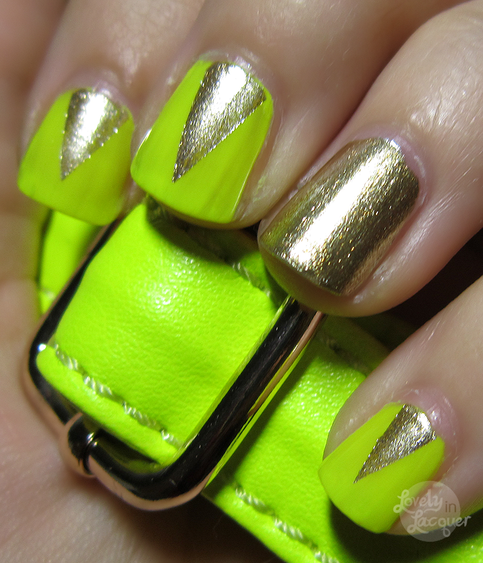 Eons of Neons - Orly Luxe, E.L.F. Neon Yellow | MakeUp | Pinterest ...