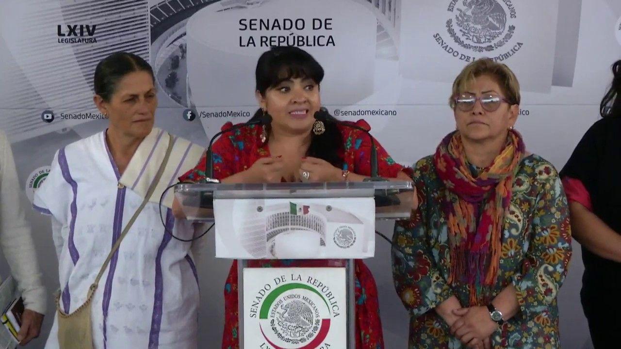 Nestora Salgado Denuncia Secuestro De Defensora Indigena