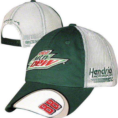 Dale Earnhardt Jr. #88 Diet Mountain Dew Old School Mesh Snapback Adjustable Hat | Sport Snapback Hats