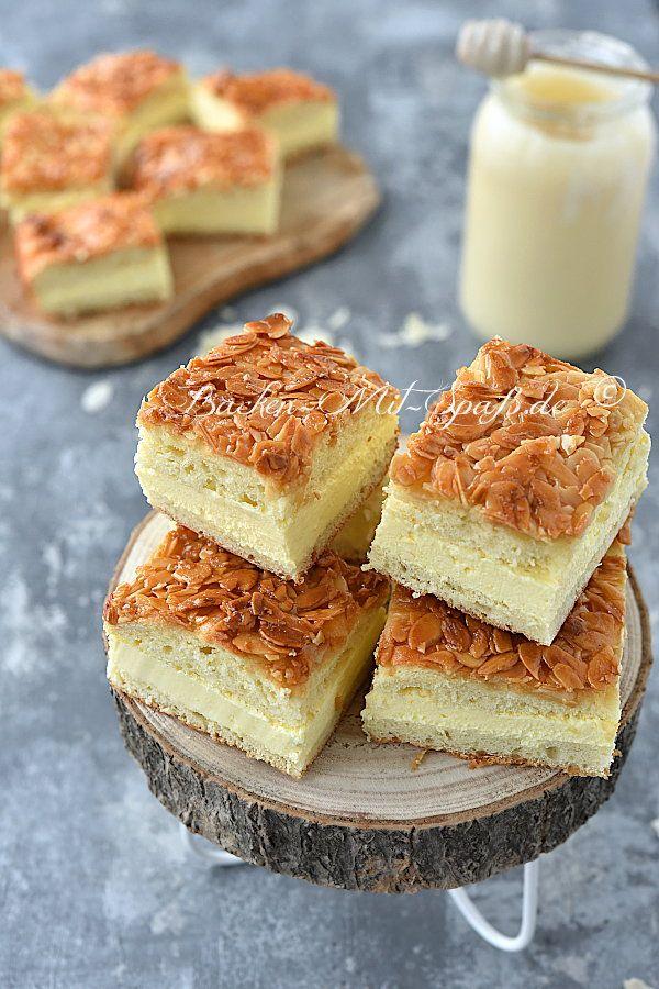Bienenstich - Rezept #cheesecakes