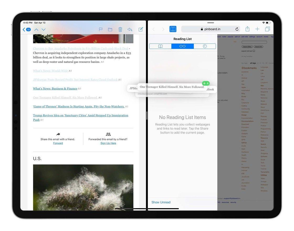 Yam's Board Unleash the potential of Safari reading lists