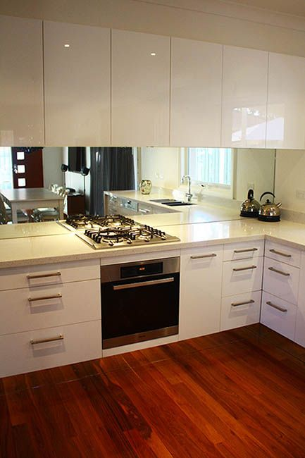 Live :: Kitchen Designed By Eat.live   Use Of Mirrored Kickboards Gives The  Illusion That The Kitchen Is Floating