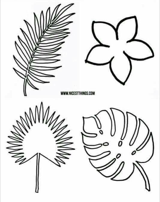 Como hacer hojas de helecho en papel | Pinterest | Hoja de helecho ...