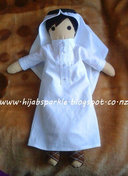 Muslim Doll Muslim Faceless Arab Boy Doll Boys Eid Gift Girls Eid gift