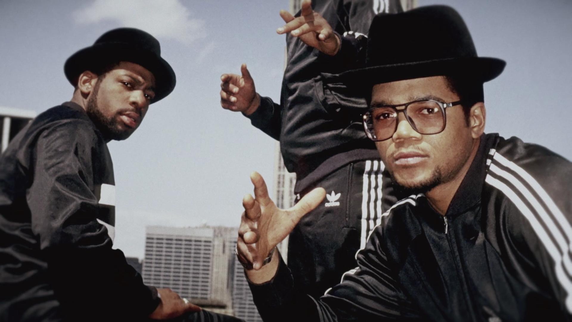 Run Dmc Wearing Tracking Suits 80s Run Dmc Hip Hop Inspiration Casual Classics