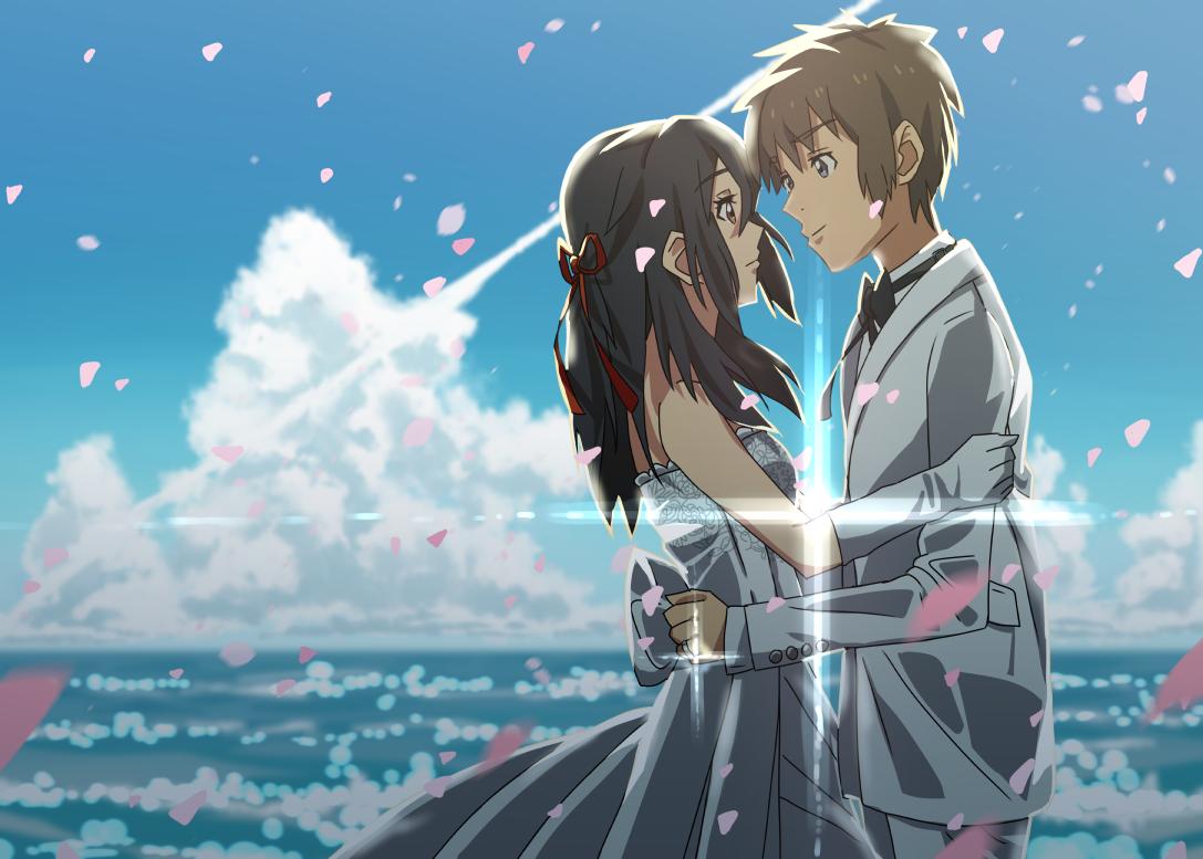Kimi no nawa Anime Couples Pinterest Anime, Anime