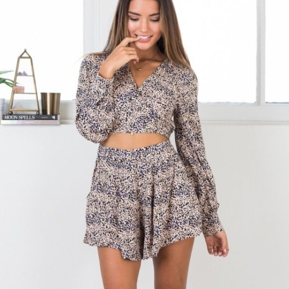 Showpo playsuit brand new with tags! I bought this romper brand new from showpo an Australian outlet. Sadly I ordered a small and am normally an xs. Still has tags attached.  Feel free to ask questions☺️ Showpo Dresses