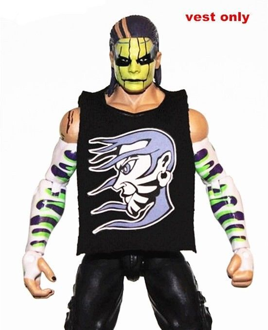 WWE Cesaro Red Shirt Accessory Mattel Elite 47 Jakks Figure Clothes