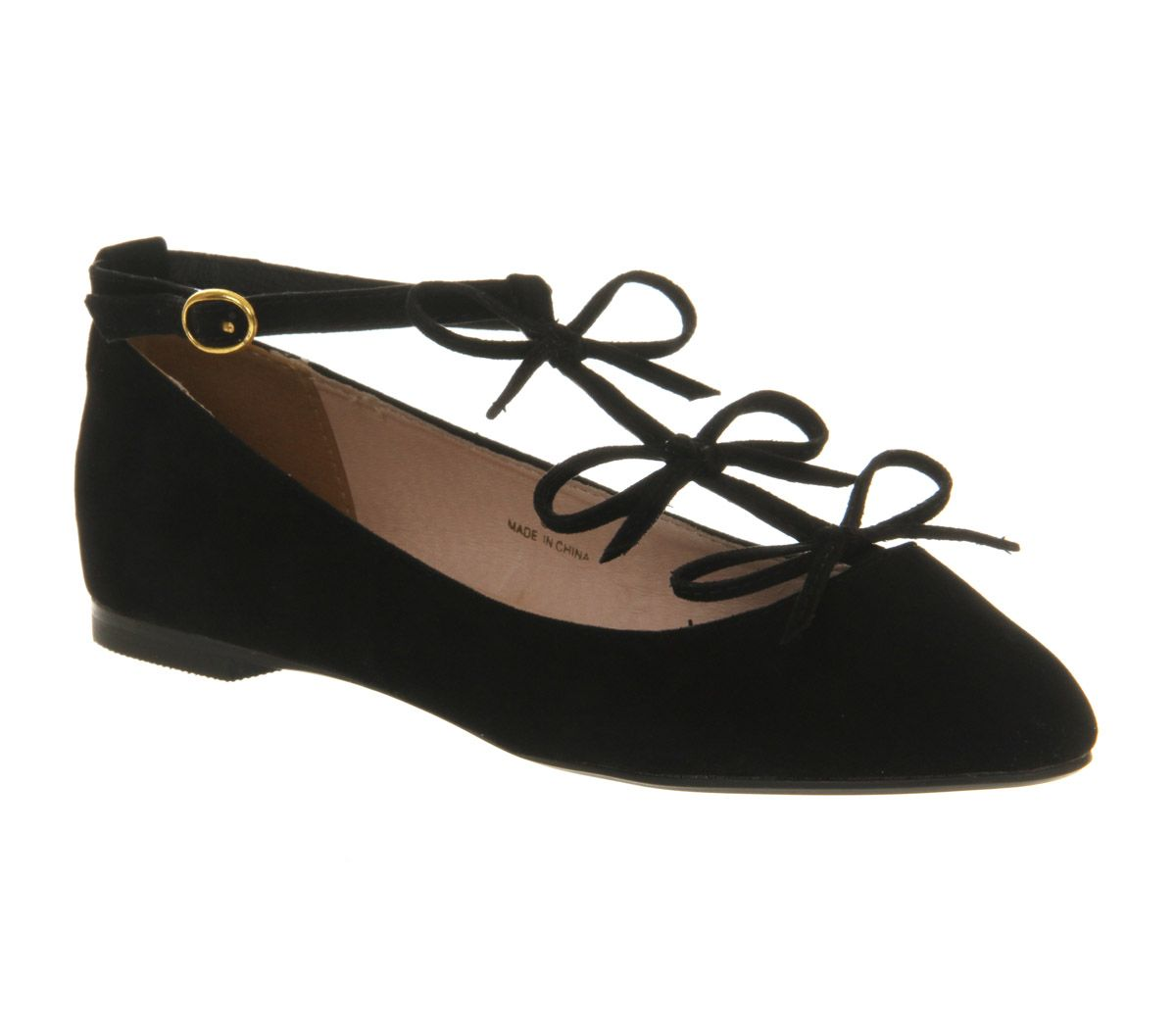 Office Tinder T Bar Black Exclusive Flats