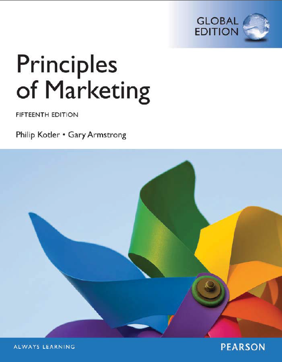 Free Business eBooks Download: Principles of Marketing, 15 Edition ...