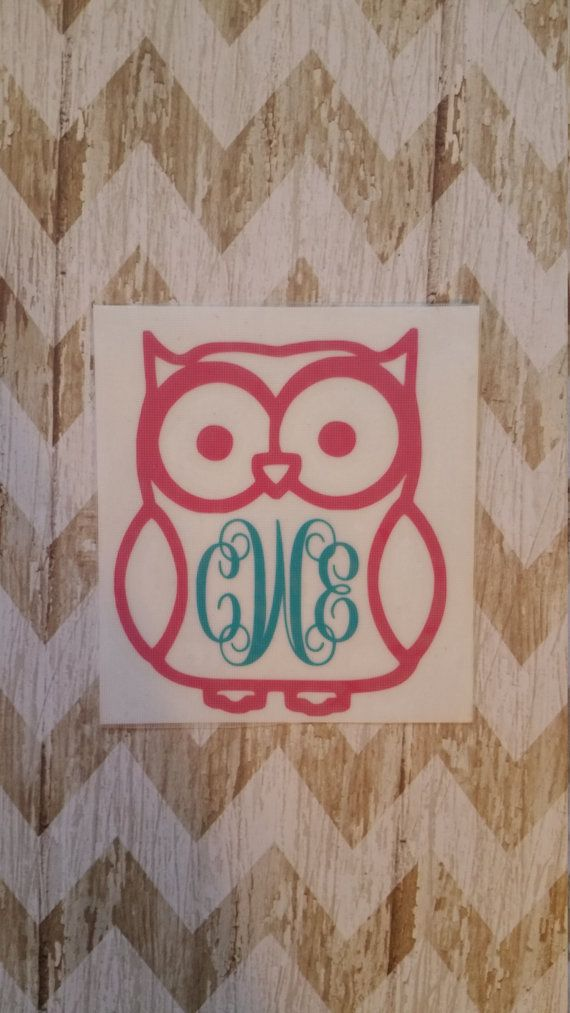Check Out This Item In My Etsy Shop Httpswwwetsycomlisting - Owl custom vinyl decals for car