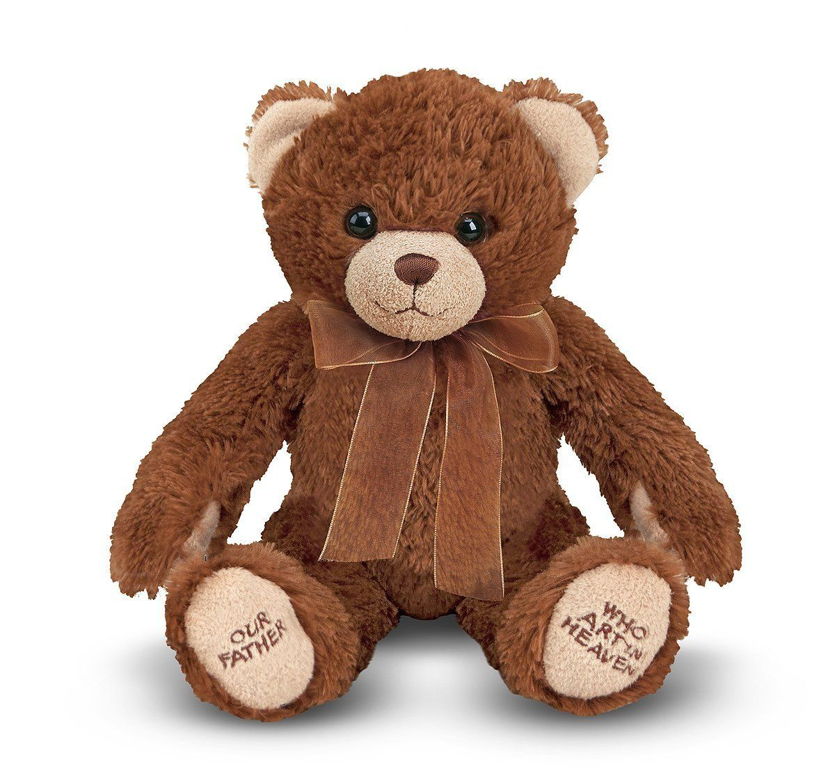 Melissa & Doug Lord's Prayer Bear Stuffed Animal With