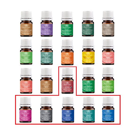 Top 20 Essential Oil Set 5 Ml Pure Therapeutic Grade Kit 14 Singles