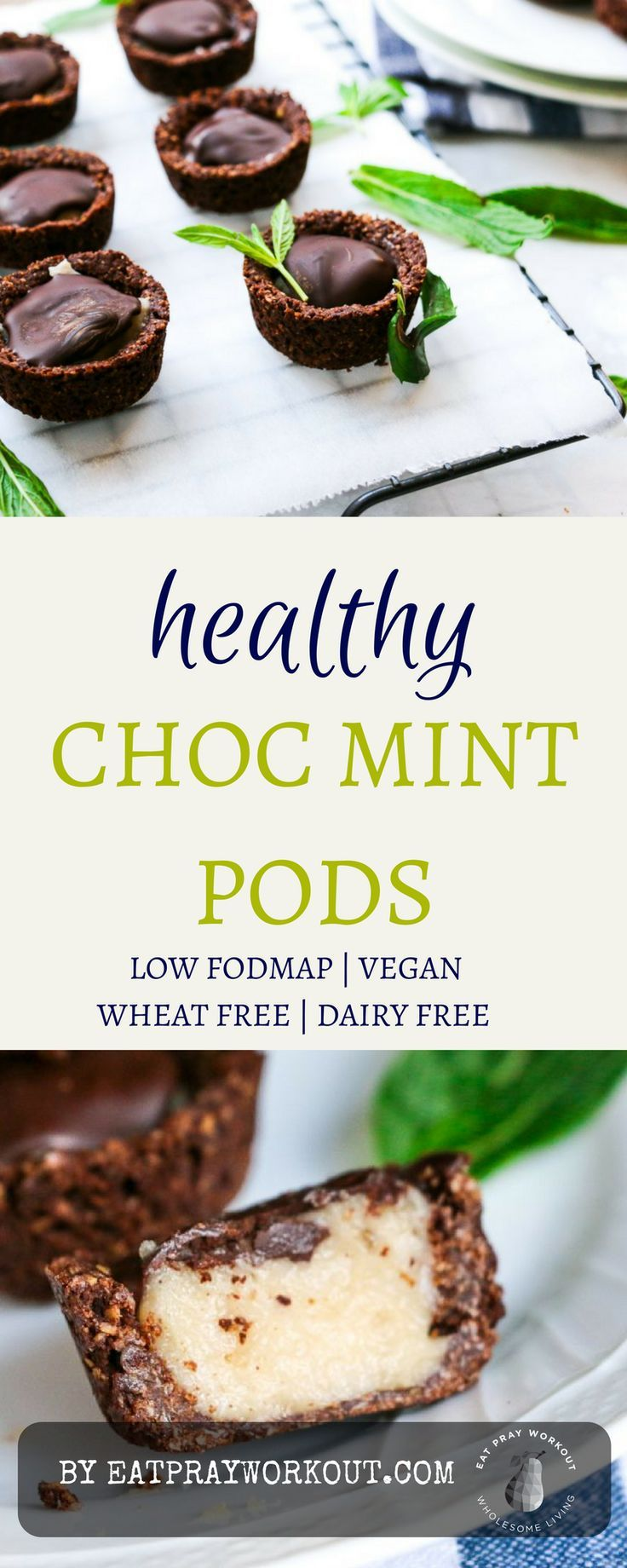 Healthy Alternative to Pods Chocmint cups Recipe