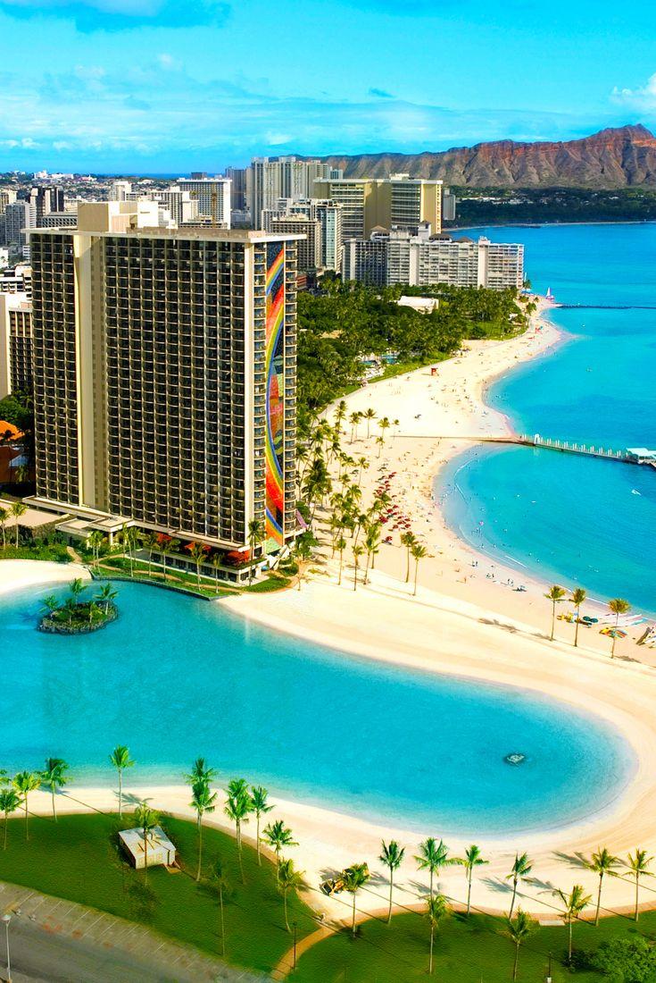 Ali L Tower At Hilton Hawaiian Village Waikiki Beach Resort Usa