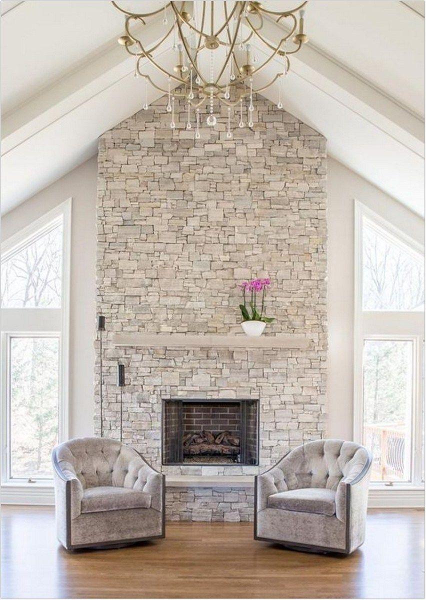 31 Cool Fireplace Decor Ideas Tips For Designing 11 Kp Design Stone Veneer Fireplace Farmhouse Fireplace Fireplace Design