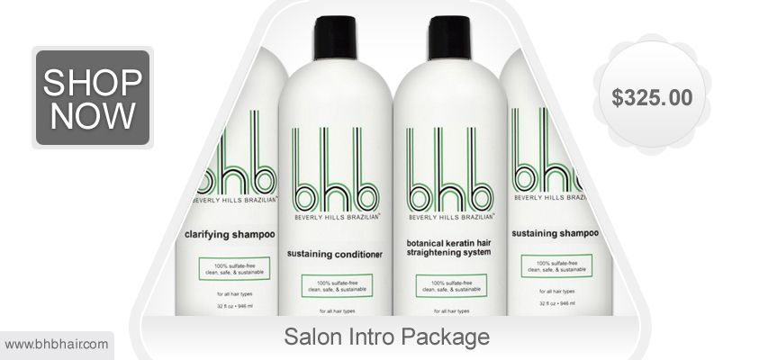 Salon Intro Package Our Botanical Keratin Hair Treatment System Was Analyzed For Formaldeh Brazilian Keratin Hair Treatment Keratin Hair Treatment Keratin Hair
