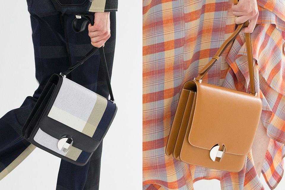 2d9b4872c740 Hermes Spring Summer 2018 features a new shoulder bag with a brand-new 'H'  clasp, see more here.