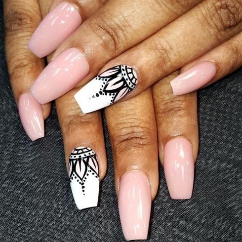 resultado de imagen para mandala nails - Gel Fingernagel Muster