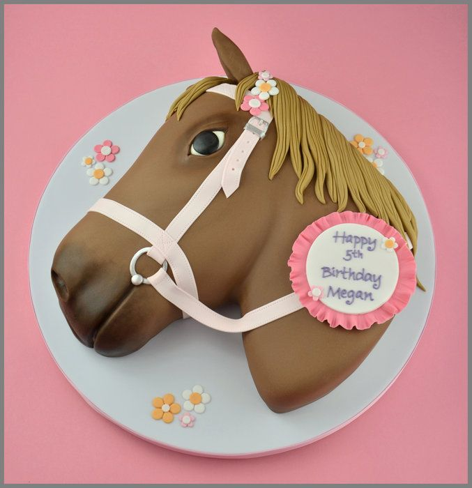 Horse Birthday Cake By Sandra Monger Recipes Pinterest Horse