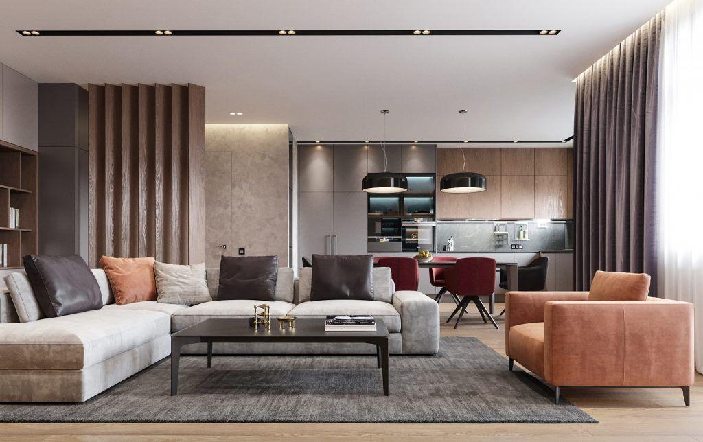 Illuminazione soggiorno moderno living nel 2019 for Illuminazione soggiorno moderno