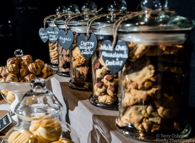 Cool Cookie Bar At A Wedding Reception See More Party Ideas Catchmyparty
