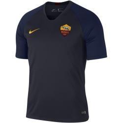 Nike Breathe A.S. Rom Strike Kurzarm-Fußballoberteil für Herren – Blau Nike