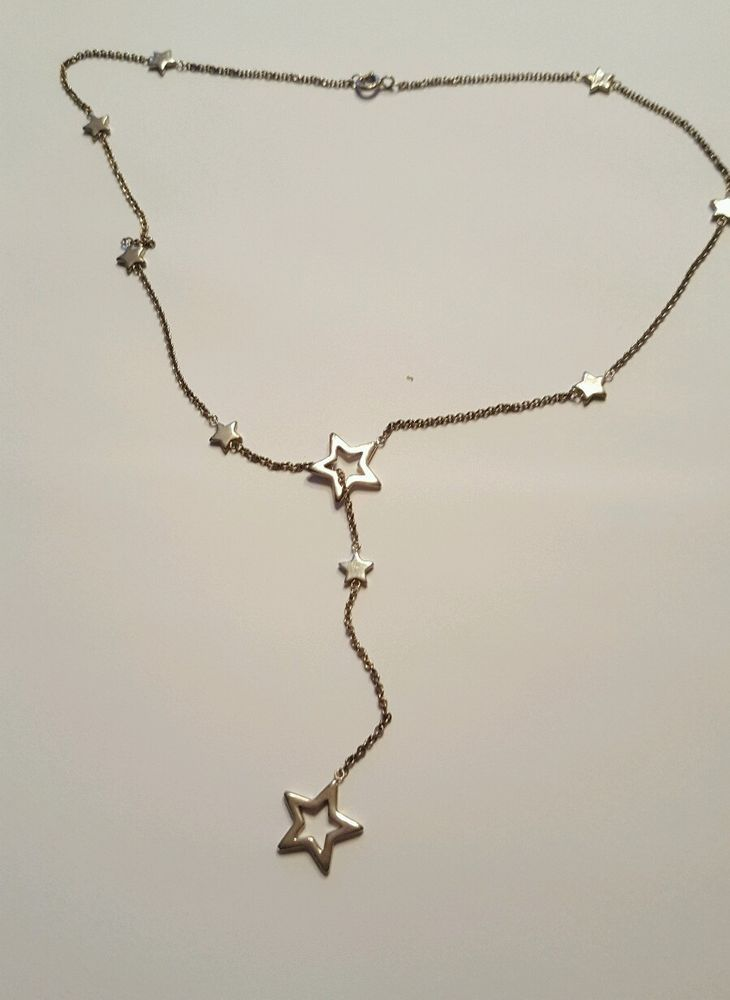 24b27fb92278e Limited Edition Tiffany & Co. Necklace Star Lariat Sterling Silver ...