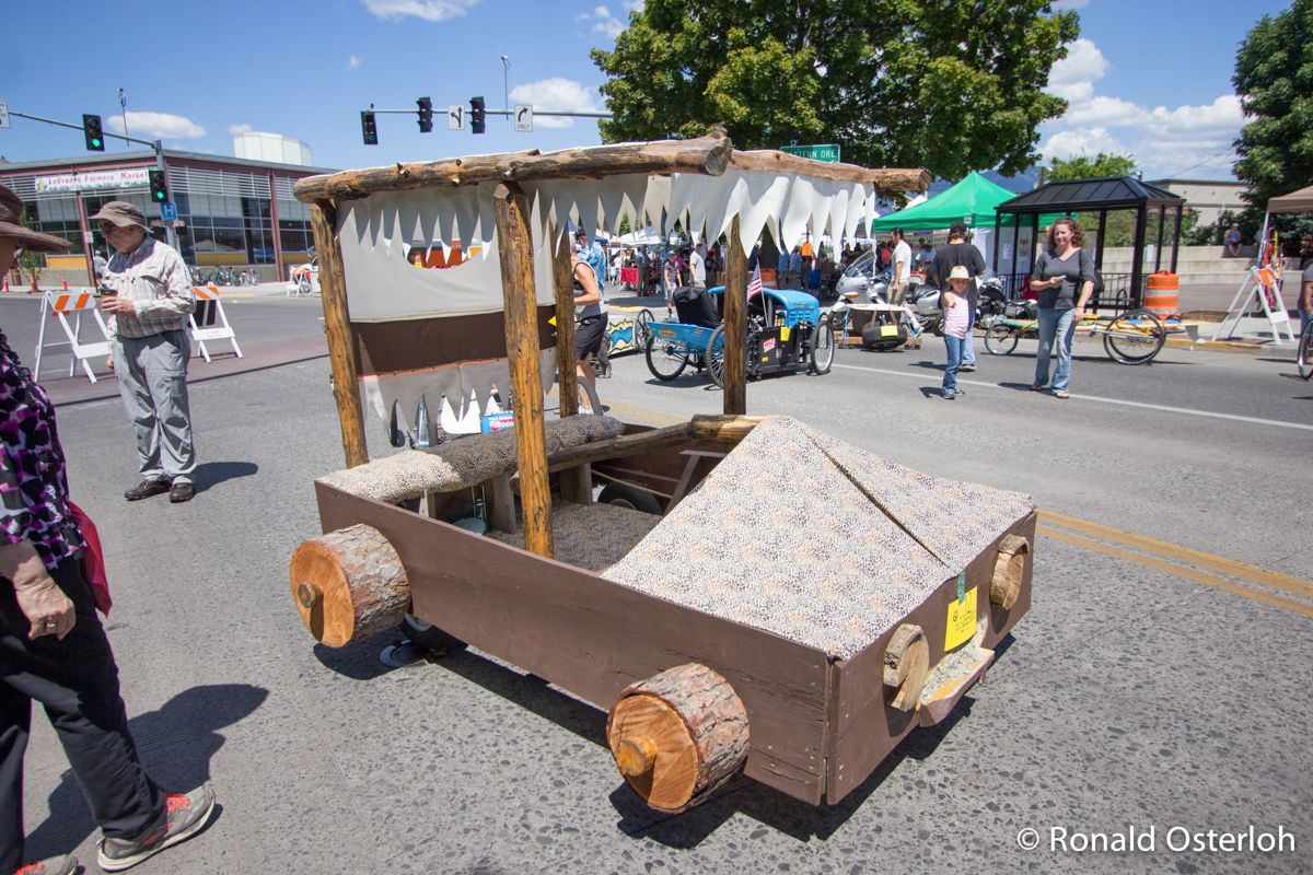 The Flintstone Car Is Not Fast But It Won The Peoples