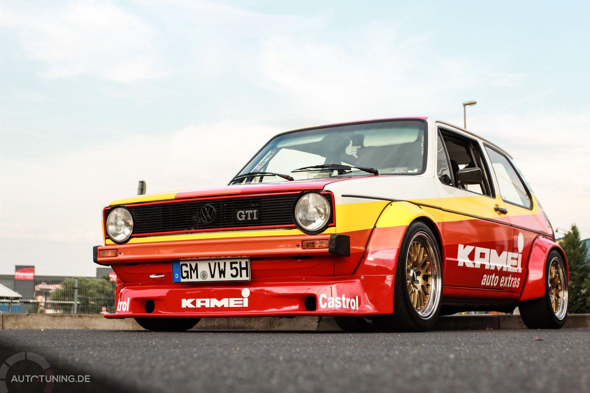 VW Golf I: Kamei-Golf reloaded! | Classic Cars ...