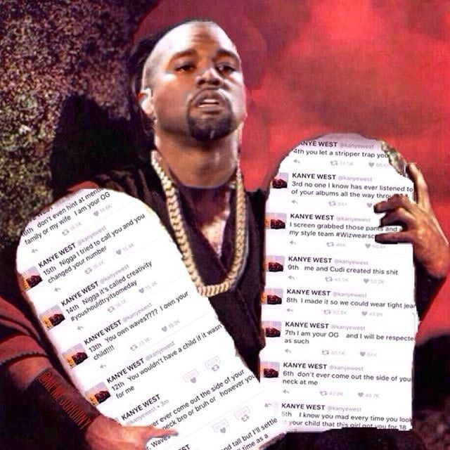 Funniest Kanye, Wiz And Amber Rose Memes And Tweets (13