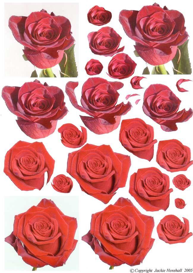 planche de decoupage rose | 3d | pinterest | decoupage, 3d and 3d