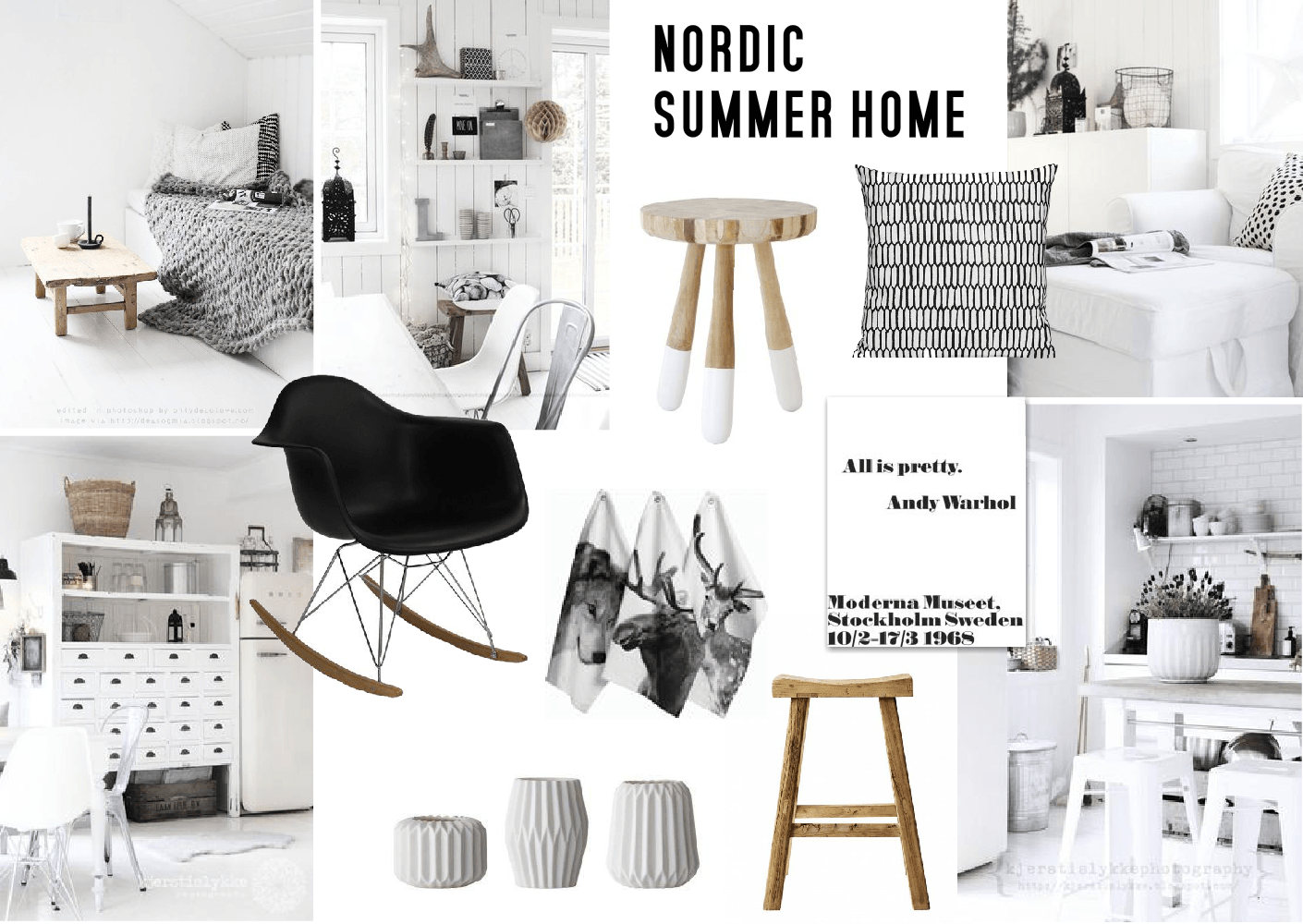 Summer Home Inspiration // Nordic Design   SampleBoard