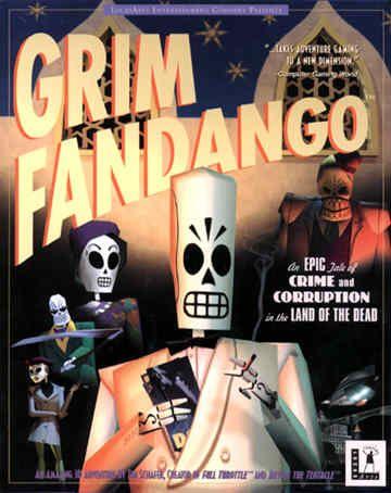 Grim Fandango. La última joya de la época dorada de las aventuras gráficas. Por cierto, ambientada en la temática de la cultura del día de muertos en México.