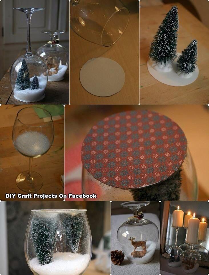DIY Christmas tabledecoration