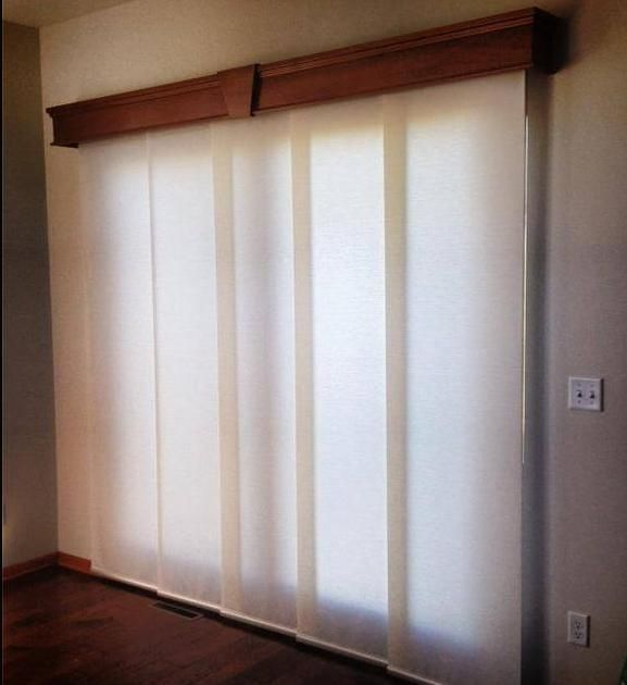 Window Treatments Beautiful Panel Track Shades With An Elegant