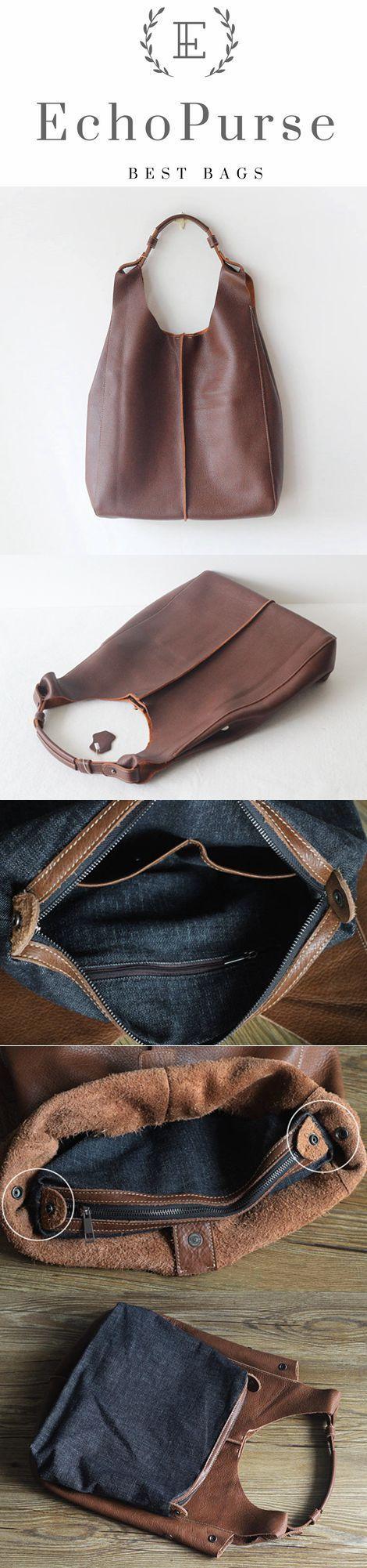 Handmade Vintage Full Grain Leather Tote Bag Shoulder Bag Handbag PPM102 Handmade Vintage Full Grain Leather Tote Bag Shoulder Bag Handbag PPM102