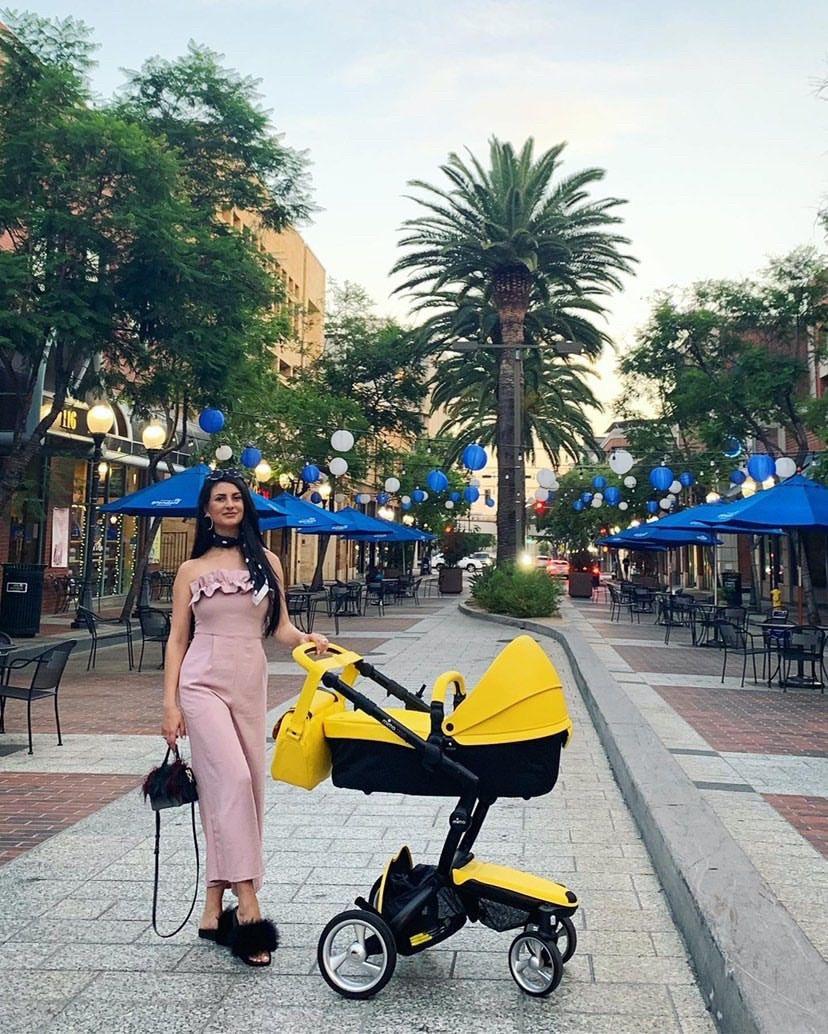 Mima Xari Yellow Edition Mima xari stroller, Mima
