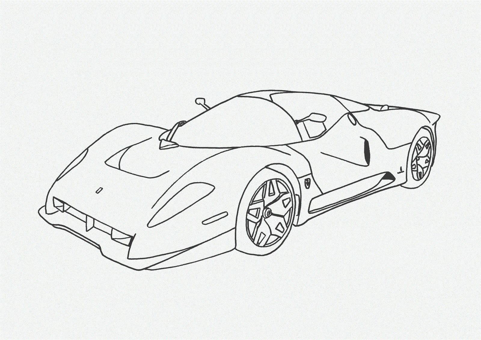 Car Coloring Pages For Free Download http//freecoloring
