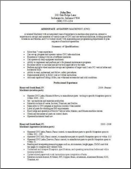 Aerospace Aviation Resume2 Resume Aerospace Download Resume