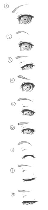 Square Enix Eye Concept By Finalmix13 On Deviantart Eye Drawing Realistic Eye Drawing Eye Expressions