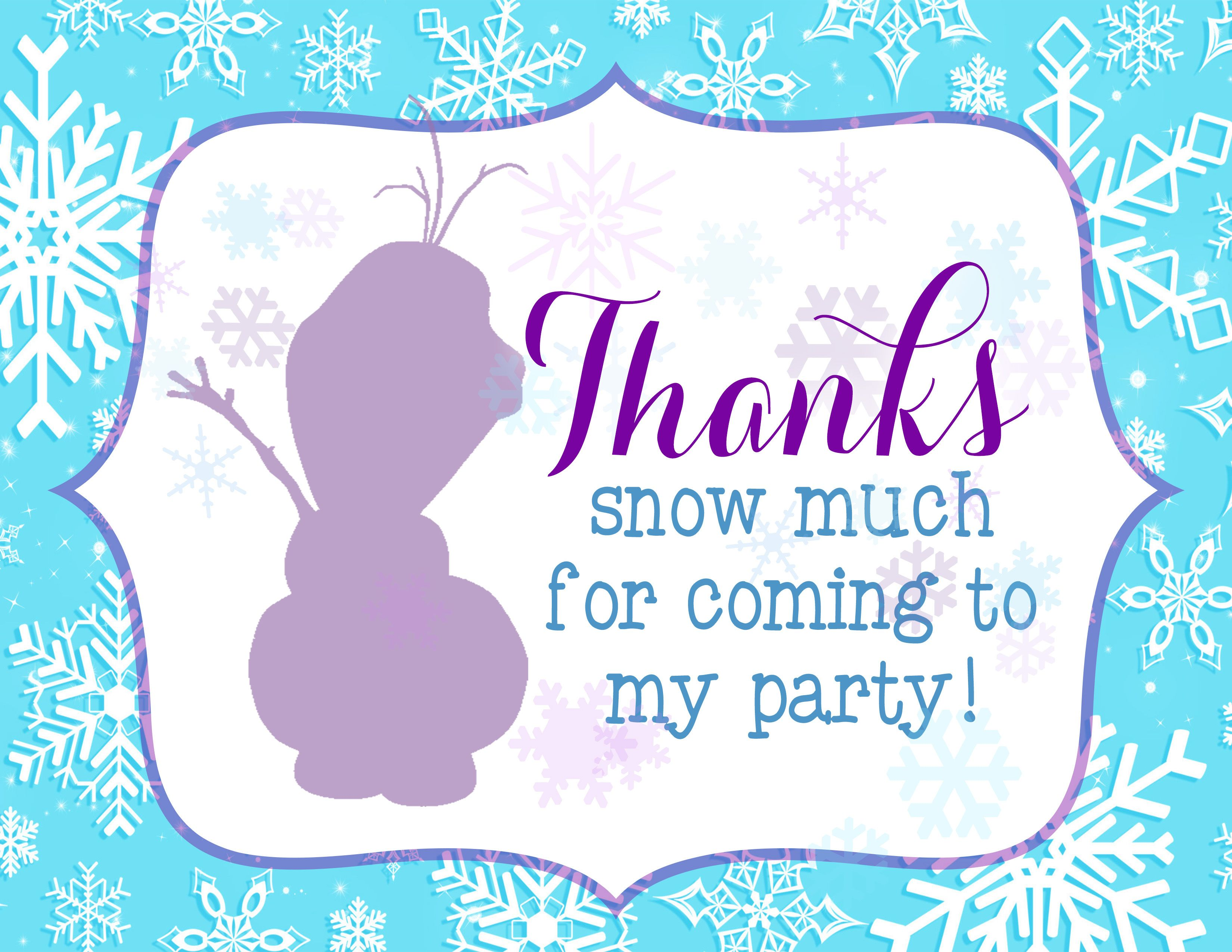 Party Themes Frozen Party Printables Freebie