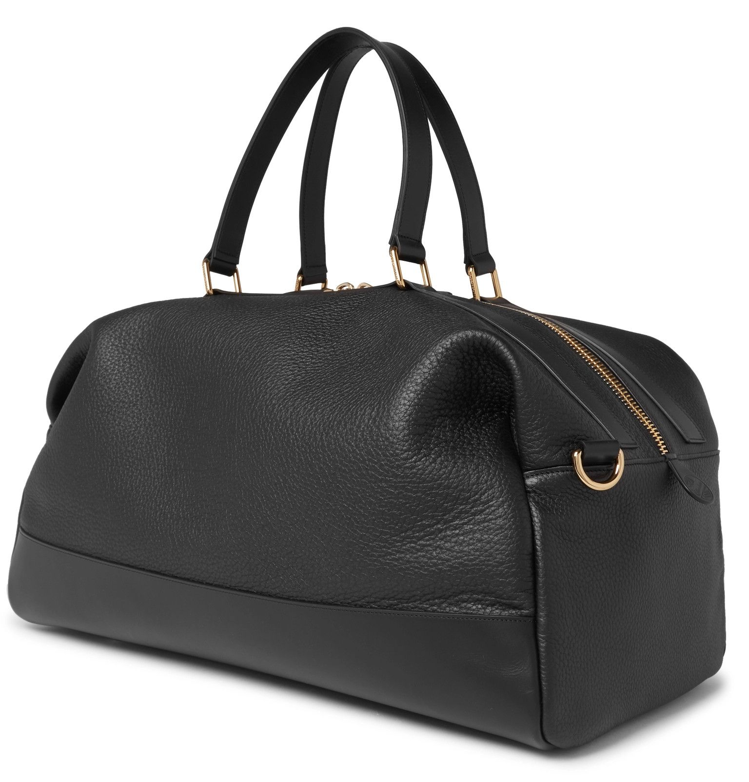 GLOBE-TROTTER Propellor Pebble-Grain Leather Holdall  7098383b8a25c