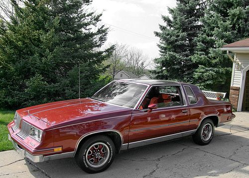 The 7th One 1983 Olds Cutlass Supreme With T Tops Oldsmobile Cutlass Supreme Classic Cars Trucks Old School Cars