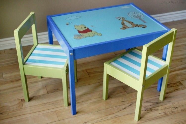 10 Awesome Diy Ikea Hacks Fur Jedes Kinderzimmer Ikea Hacks Ikea Tisch Und Stuhle Kinder Zimmer