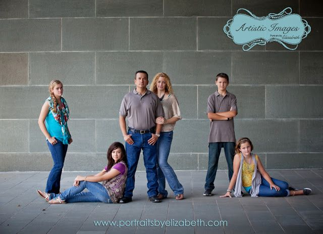 Modern Family Portrait Ideas