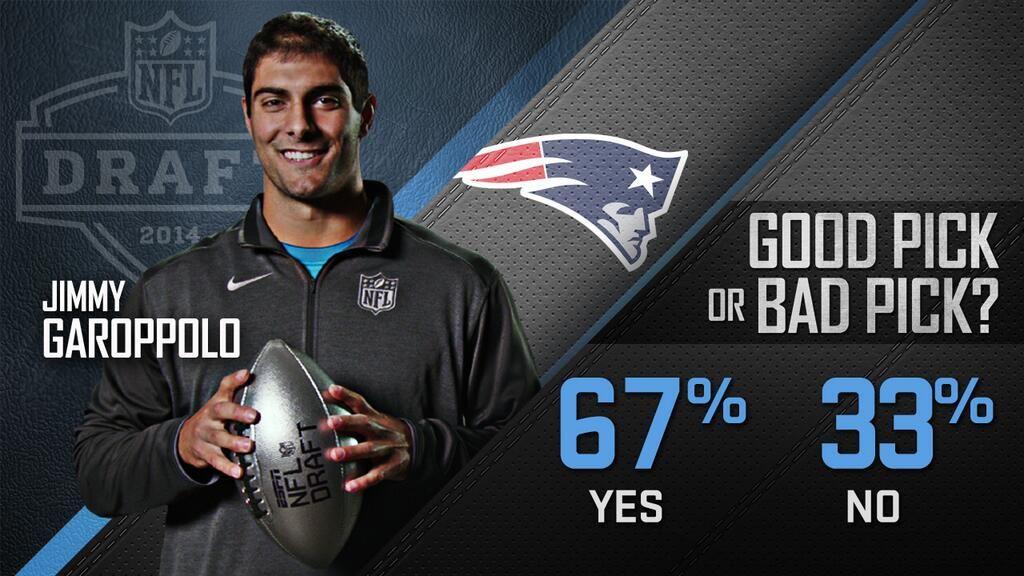 The Patriots newest draft pick, QB Jimmy Garoppolo should ... Jimmy Garoppolo Patriots Shirt
