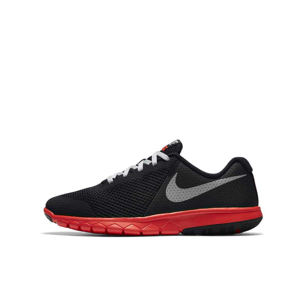 a6bfed3717a4 Nike Flex Experience 5 Big Kids  Running Shoe Size 6.5Y (Black) - Clearance  Sale